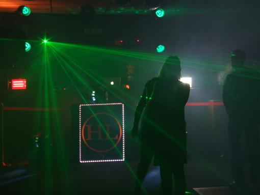 green laser